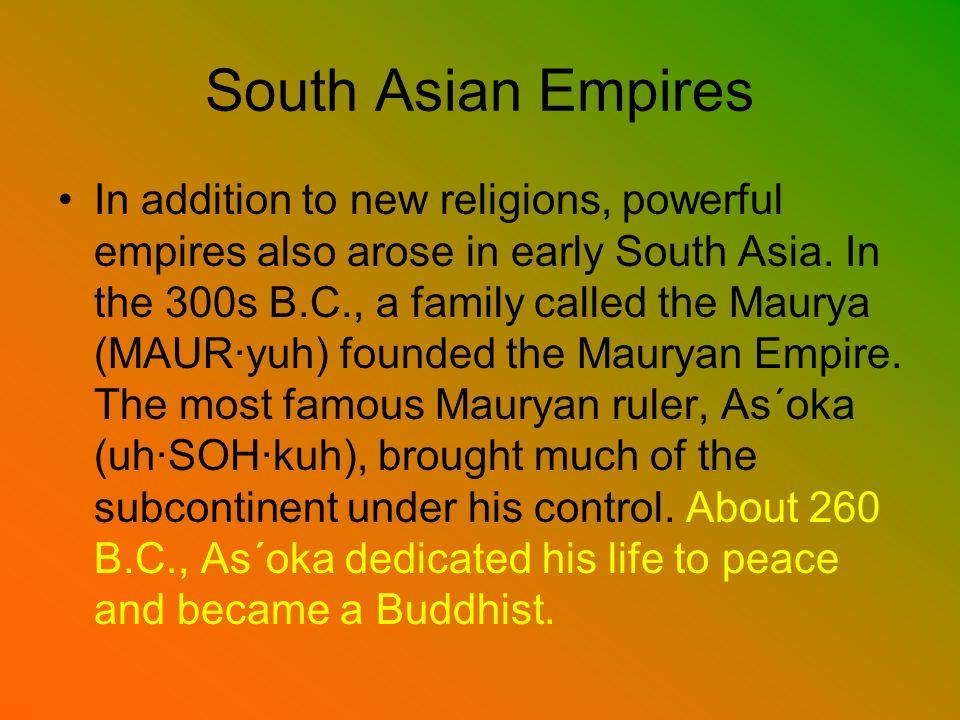 South Asian Empires