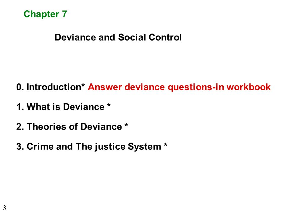 social control and criminal deviance essay The 'social control' theory sees crime as a result of social  this sort of thing,  then you might like my crime and deviance revision notes – 31.
