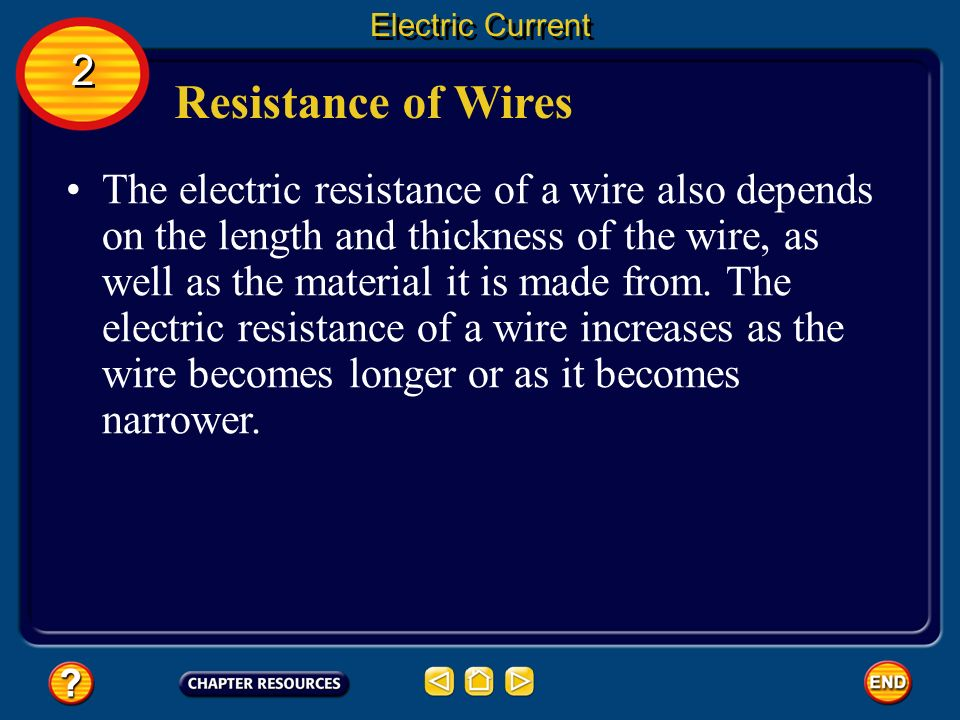 resistance of wire essay
