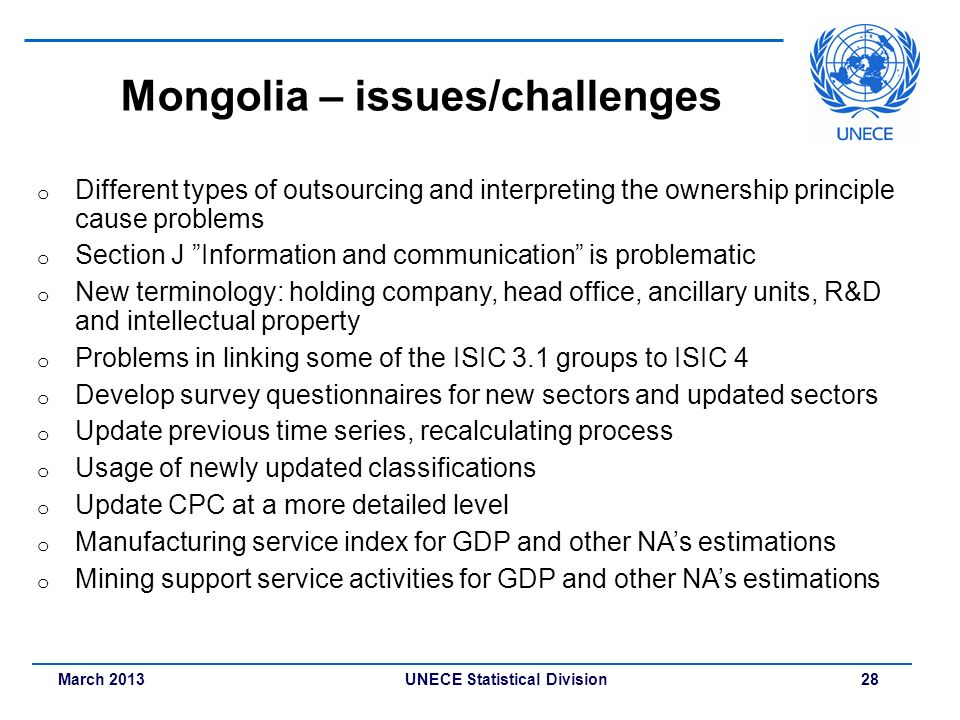 Mongolia – issues/challenges