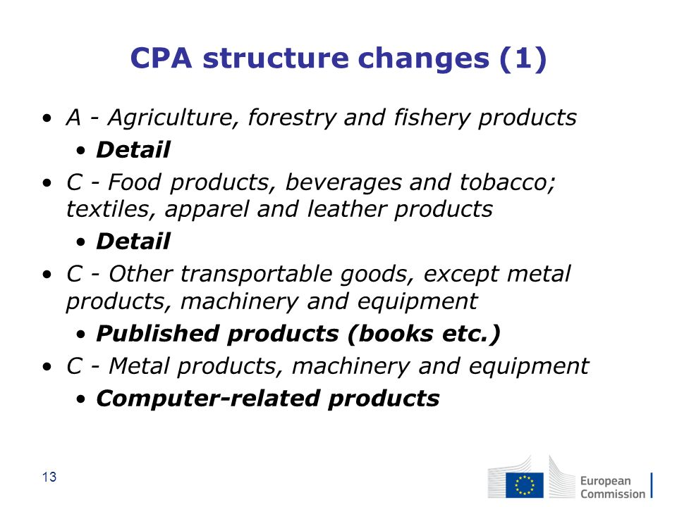 CPA structure changes (1)