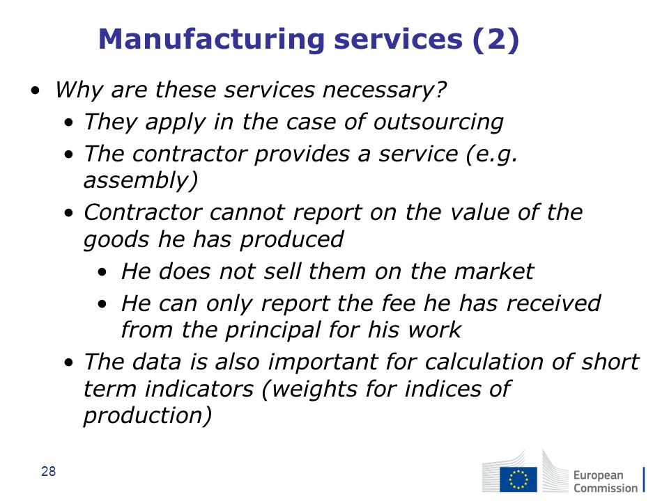 Manufacturing services (2)