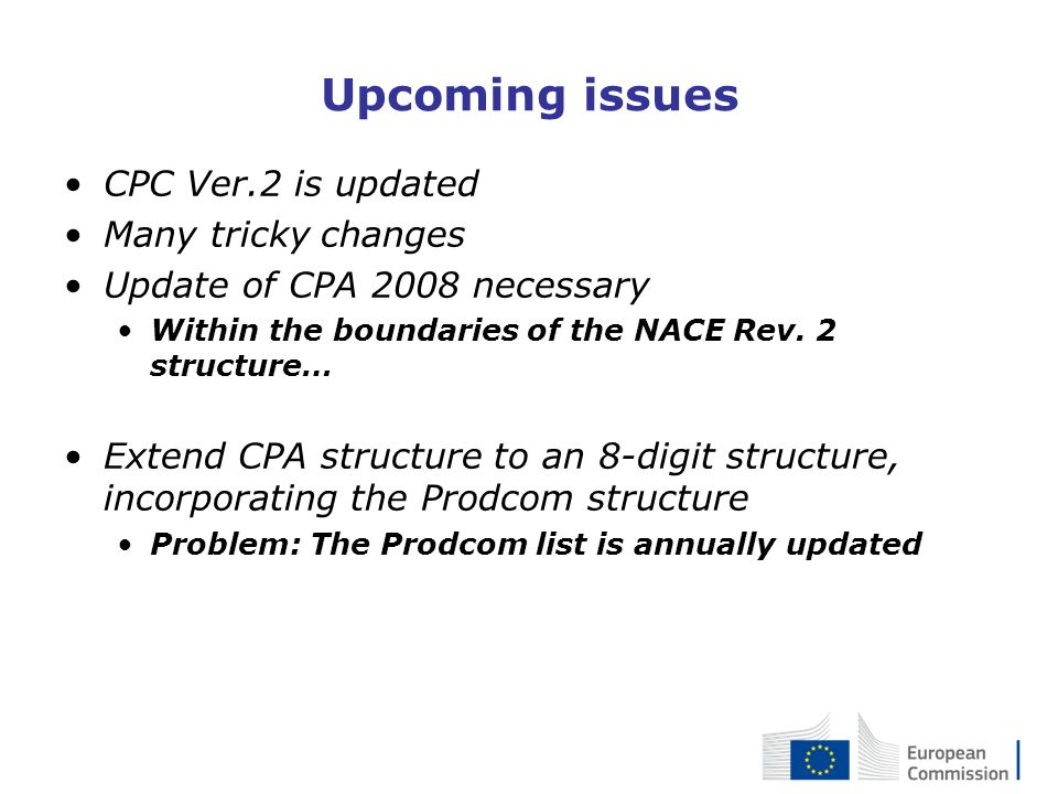 Upcoming issues CPC Ver.2 is updated Many tricky changes