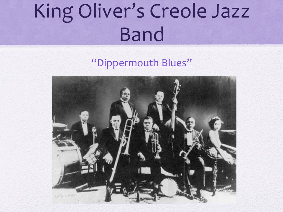 king oliver jazz