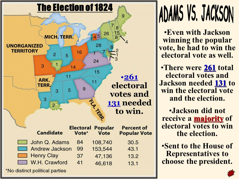 an examination of the election of 1824 Quizlet provides election of 1824 activities, flashcards and games start learning today for free.