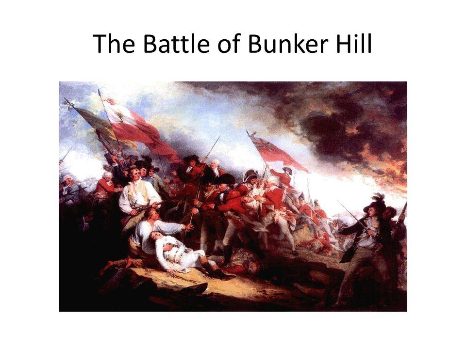 Battle of bunker hill date