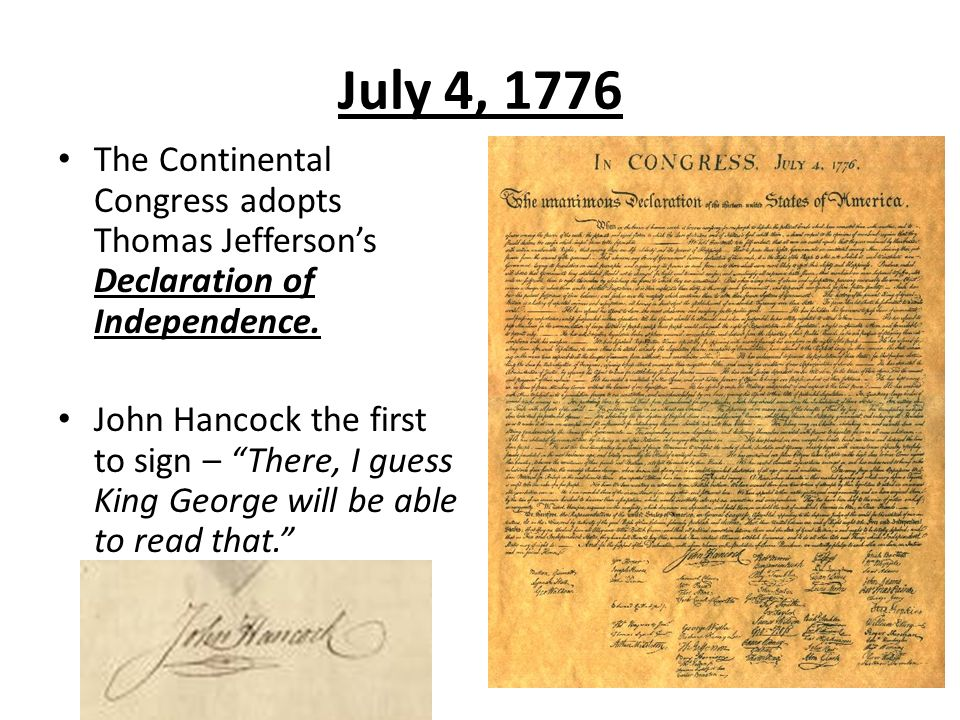 a literary analysis of thomas jeffersons declaration of independence The second continental congress adopted the declaration of independence on july 4, 1776 we now credit thomas jefferson with the declaration's authorship, but that was not the case on that momentous day, nor for a significant time afterwards.