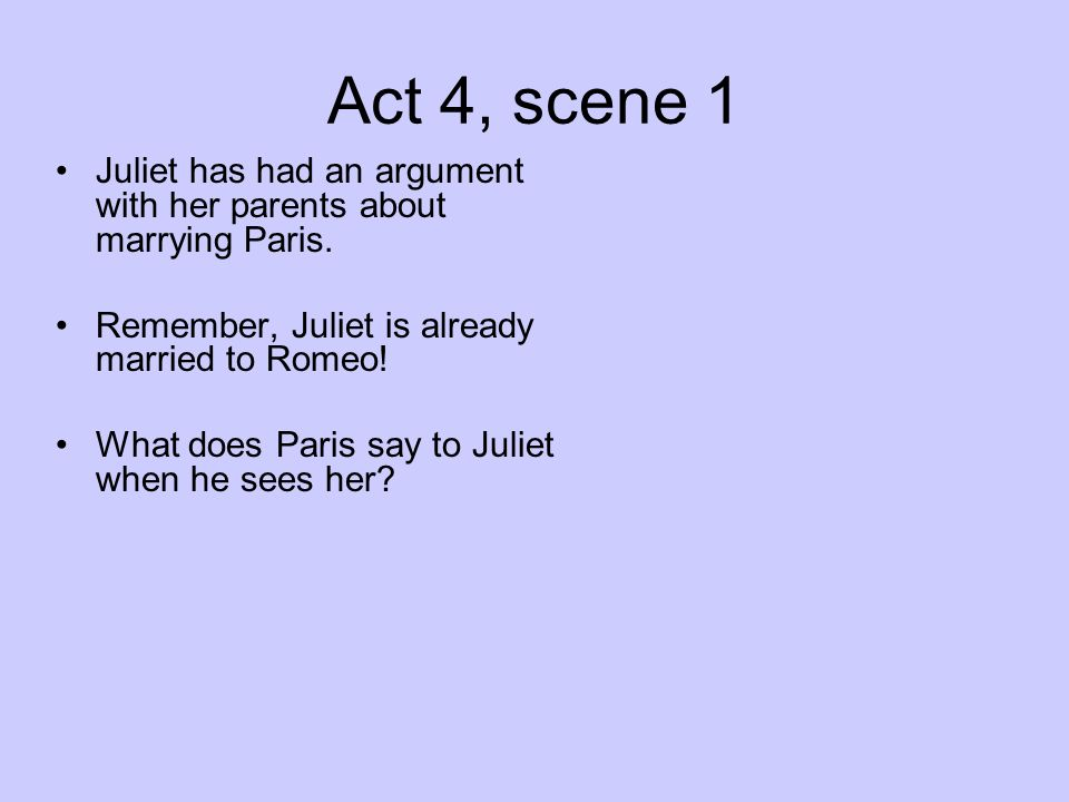 romeo and juliet act iv essay questions Essays and criticism on william shakespeare's romeo and juliet - critical essays act iv, scenes 4–5: questions and answers romeo and juliet homework help.