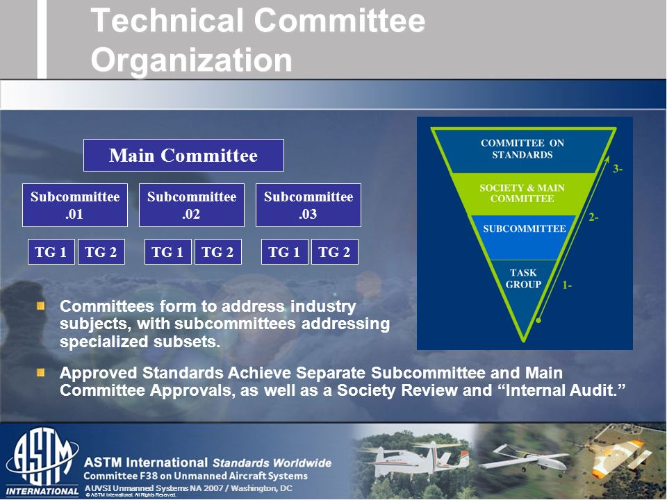 Technical Committee Organization