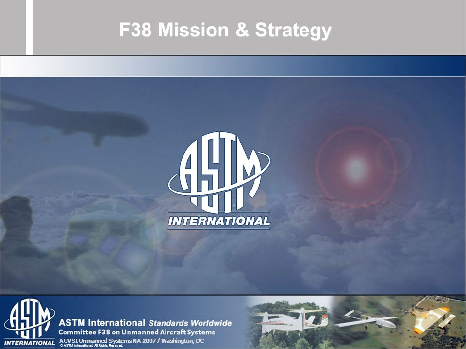 F38 Mission & Strategy