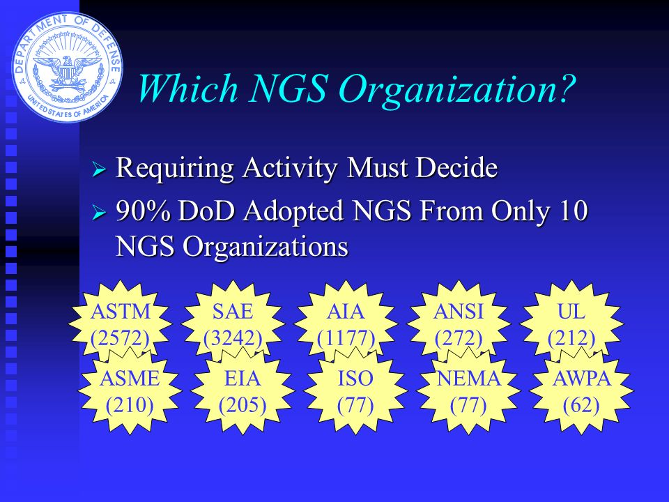 Which NGS Organization