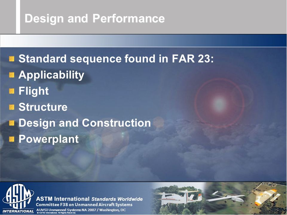 Design and Performance