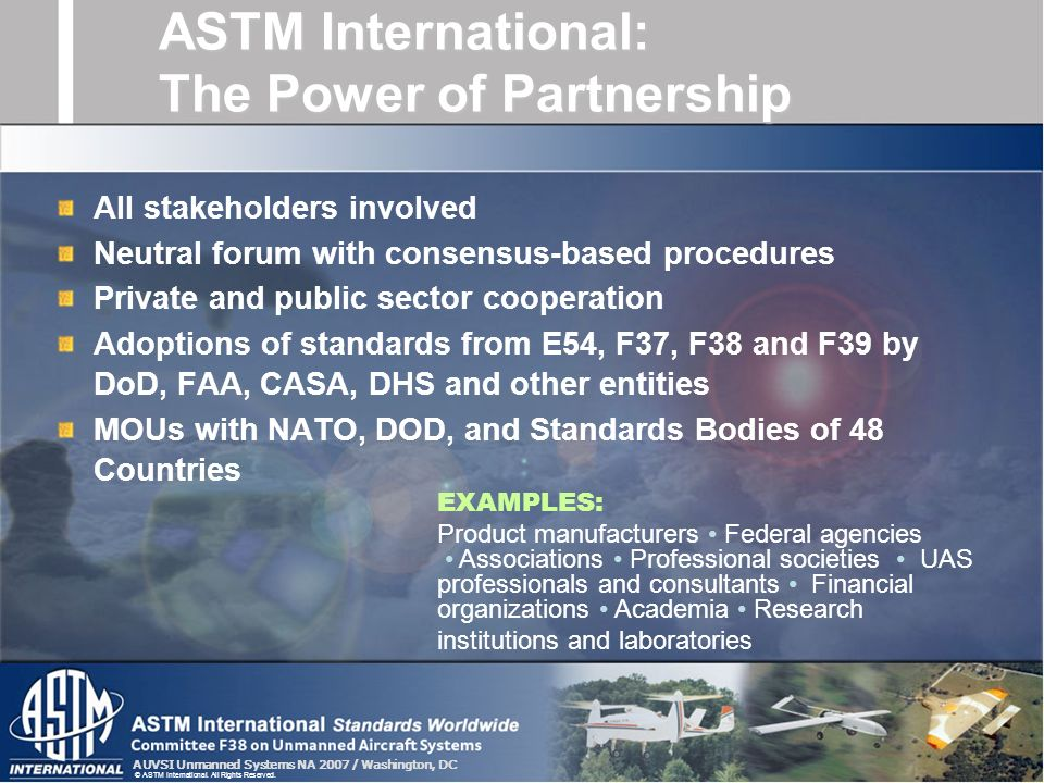 ASTM International: The Power of Partnership
