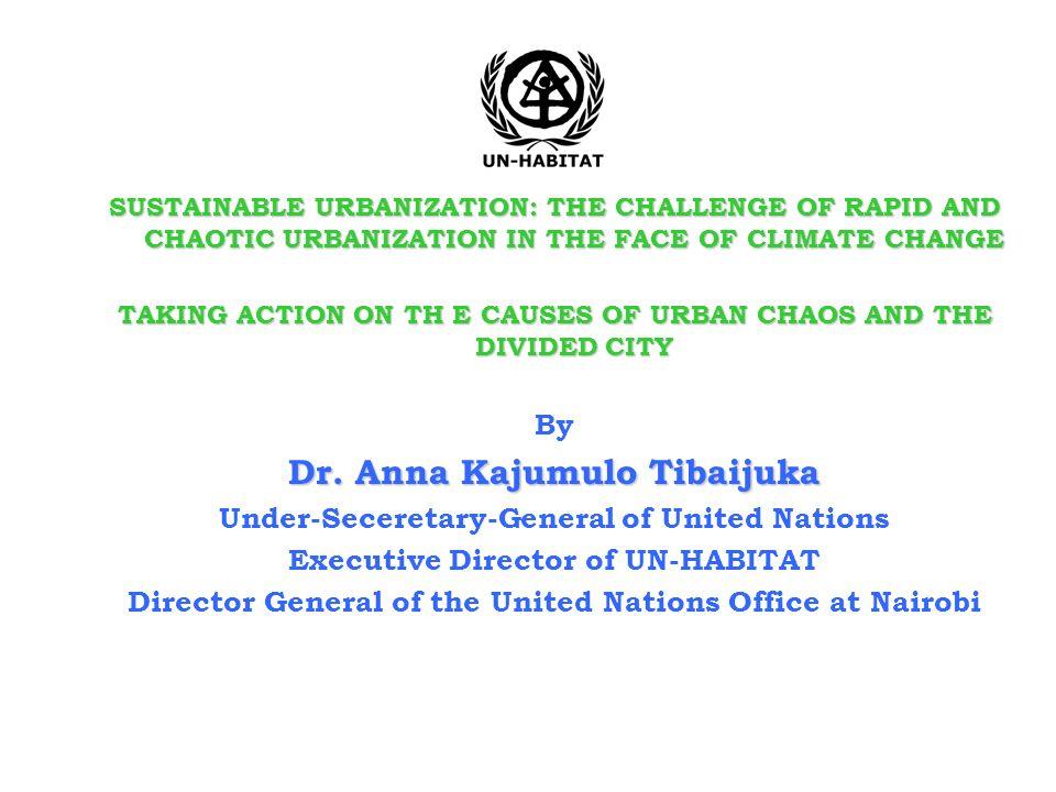 Dr. Anna Kajumulo Tibaijuka