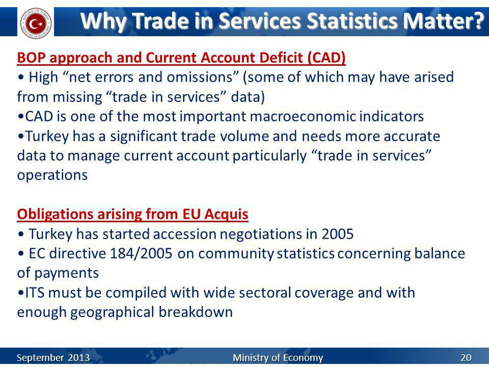 Why Trade in Services Statistics Matter
