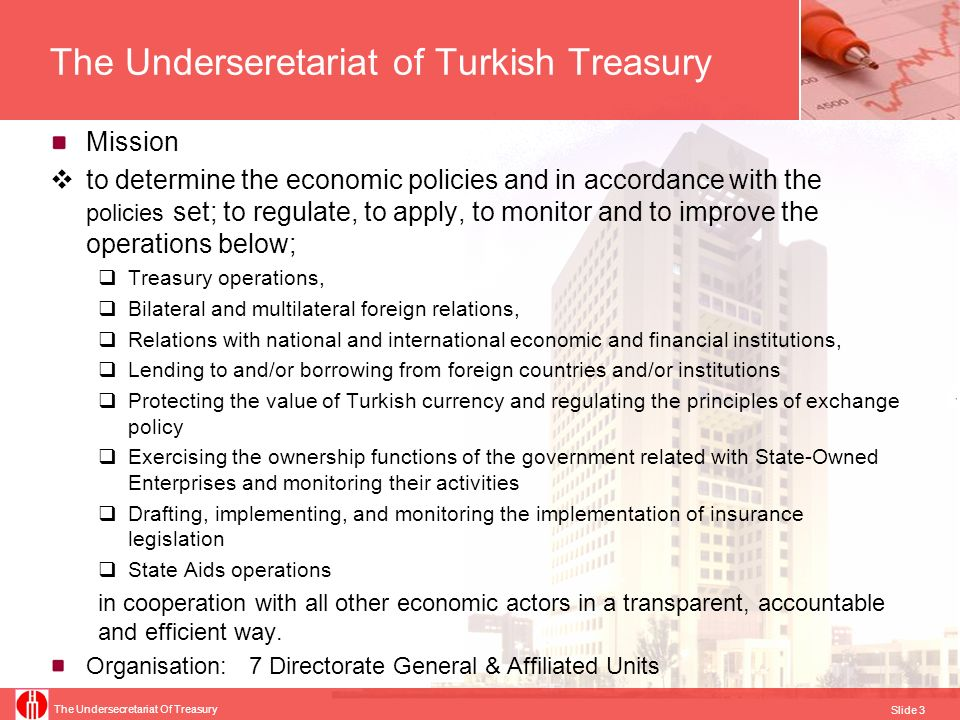The Underseretariat of Turkish Treasury
