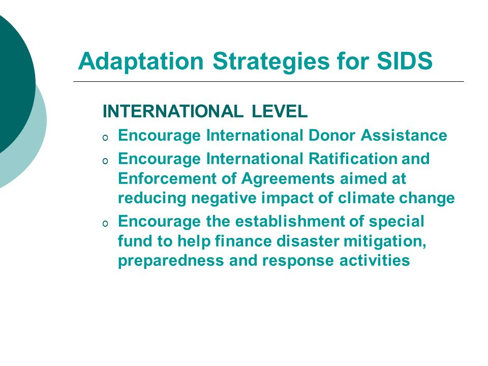 the adaptation and mitigation strategies to climate change in the caribbean Climate change and climate impacts in latin america and the caribbean  2   strategy for climate change adaptation and mitigation, and sustainable and .