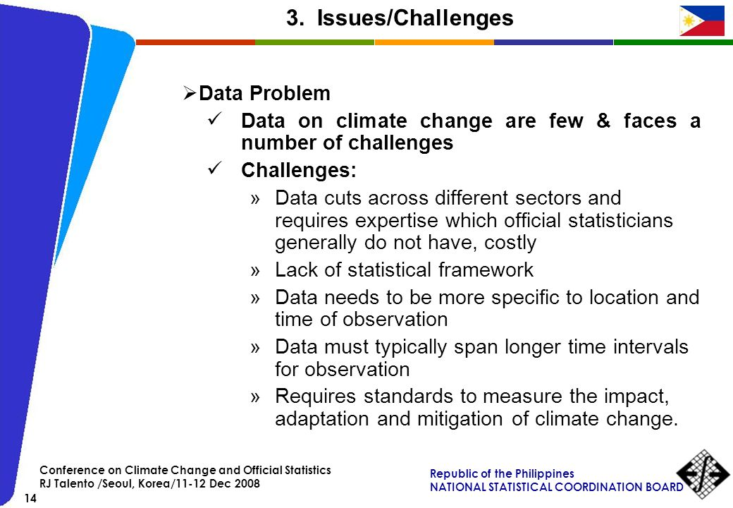 3. Issues/Challenges Data Problem