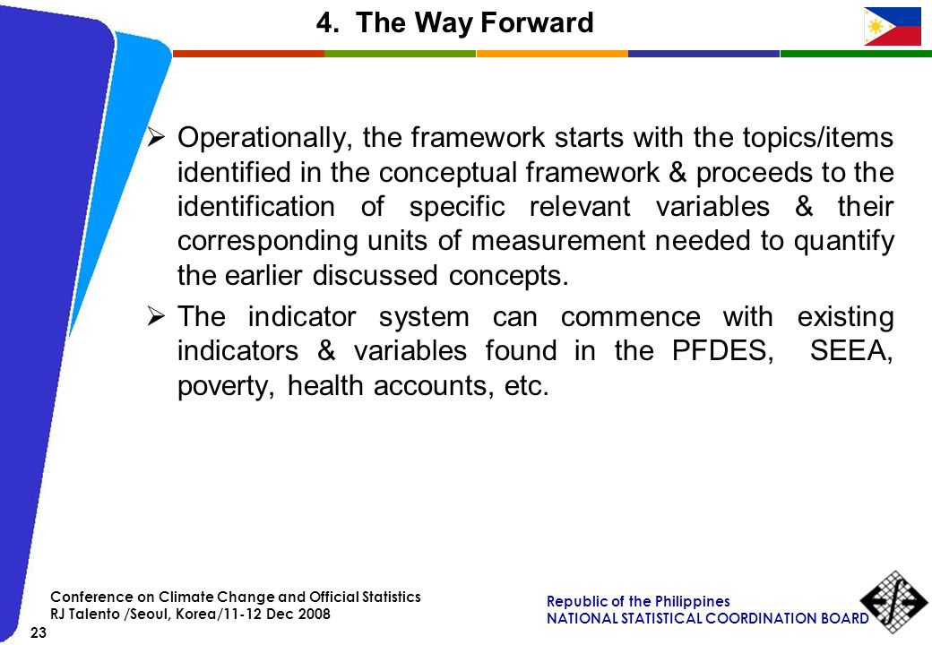 4. The Way Forward