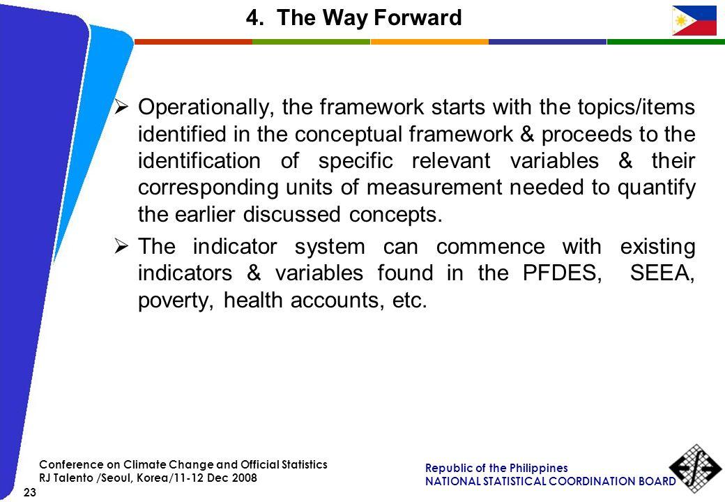 4. The Way Forward