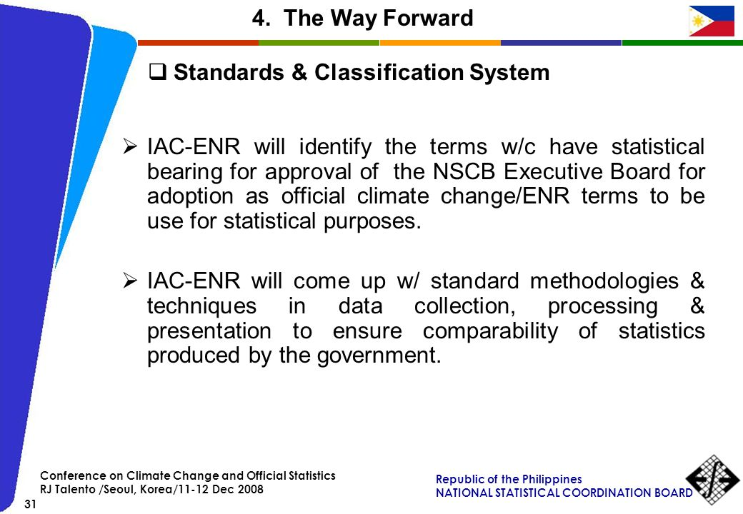 Standards & Classification System