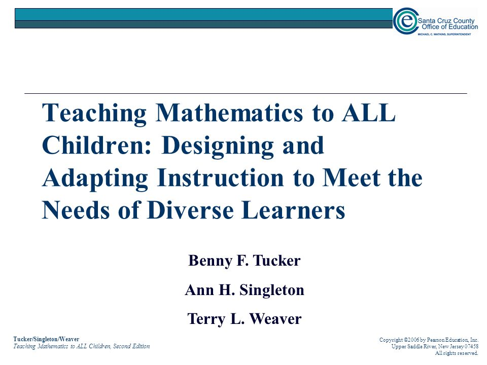 adapting the curriculum to meet diverse needs