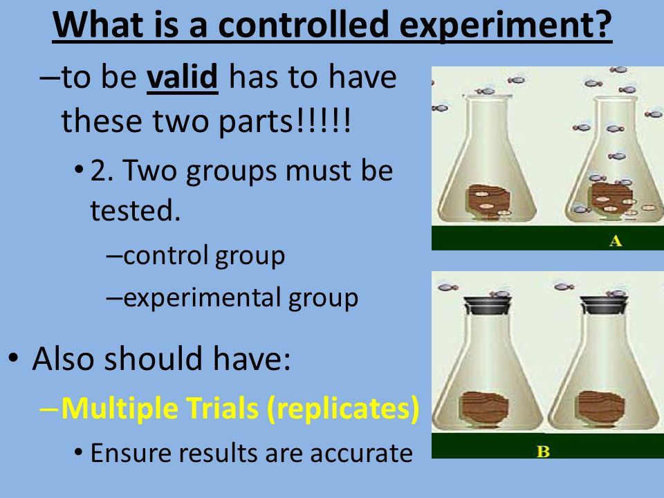 how to make an experiment valid