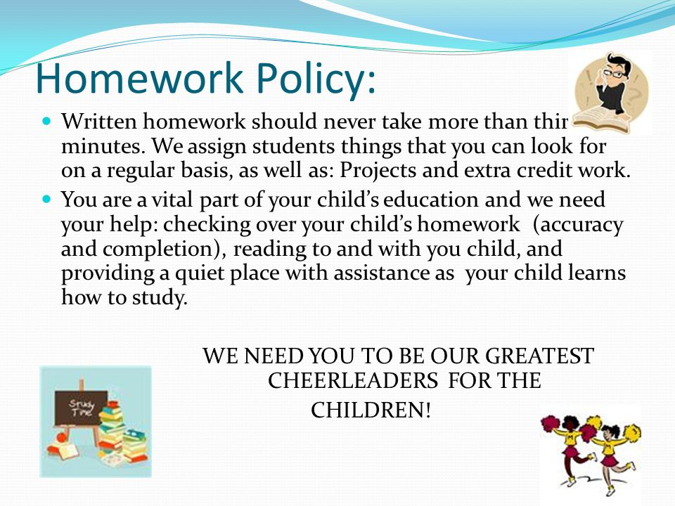 WE NEED YOU TO BE OUR GREATEST CHEERLEADERS FOR THE