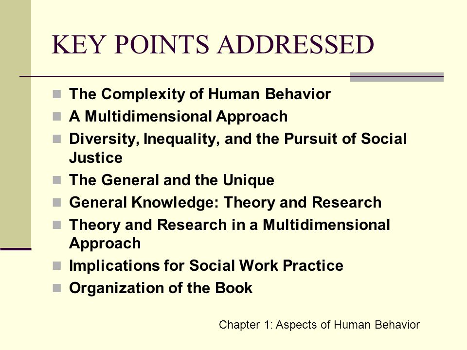 Human behavior in social environment Essay