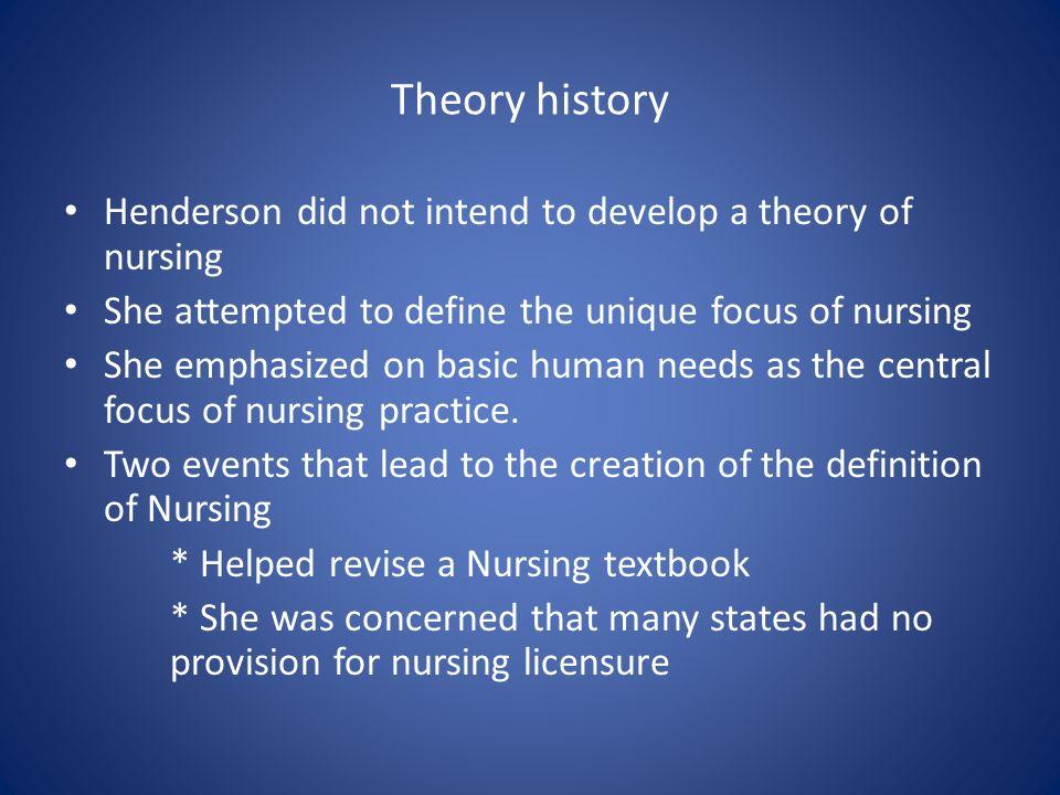 virginia henderson nursing theory pdf