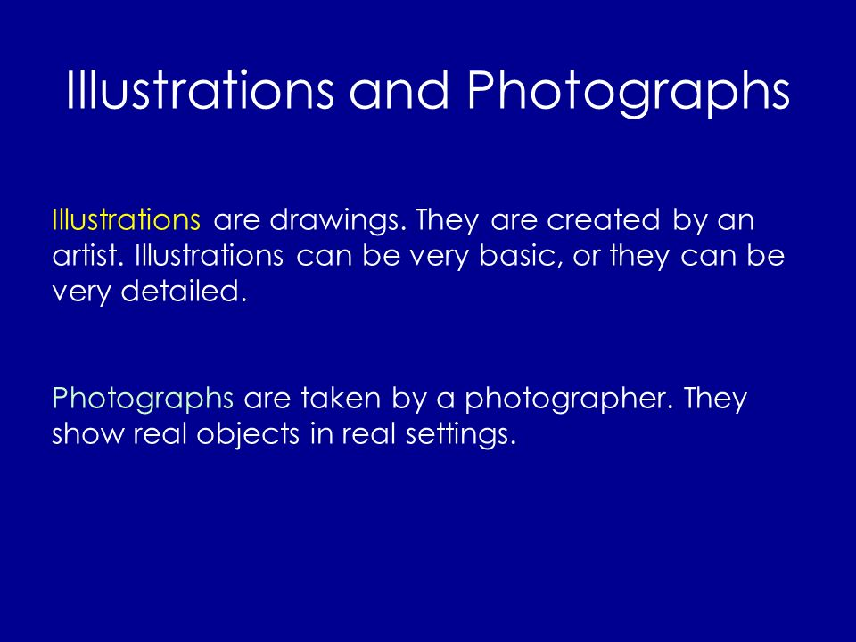 Illustrations and Photographs