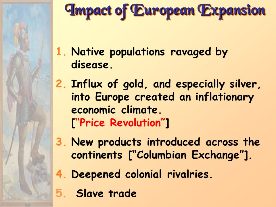 Impact of European Expansion