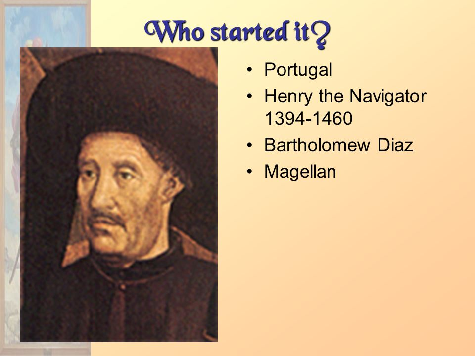 Who started it Portugal Henry the Navigator