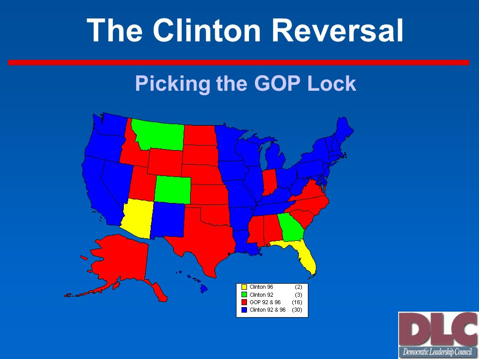 The Clinton Reversal Picking the GOP Lock