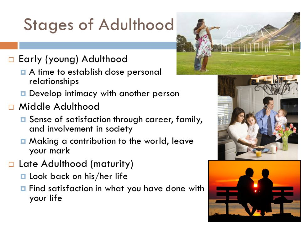 late adult stage of life Through from infancy to late adulthood the eight stages of development   clarify the developmental challenges faced at various points in life.