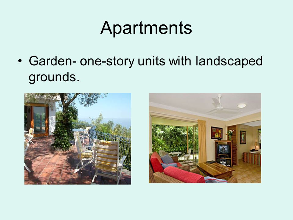 Multifamily and single family homes ppt video online for One story apartments
