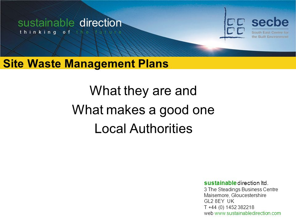 e-waste business plan ppt