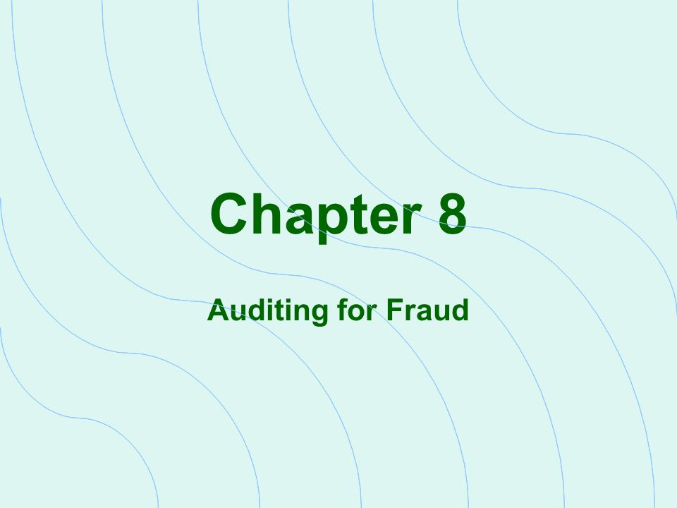 Auditing chap 5