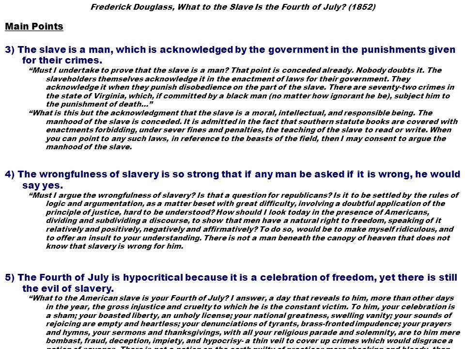 the problem of racism in the united states in frederick douglass my bondage and my freedom What to the slave is the fourth of july posed frederick douglass to a gathering of 500-600 abolitionists in rochester, ny, in 1852 admission to the speech was 12 cents, and the crowd at the .