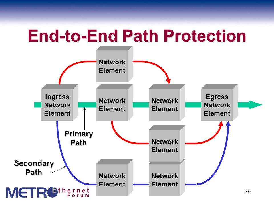 End-to-End Path Protection