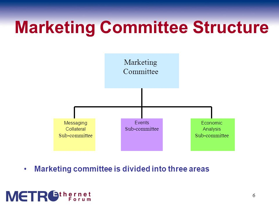 Marketing Committee Structure