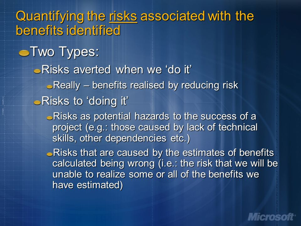 quantifying risks Financial advisors and wealth management firms use a variety of tools based in  modern portfolio theory to quantify investment risk.