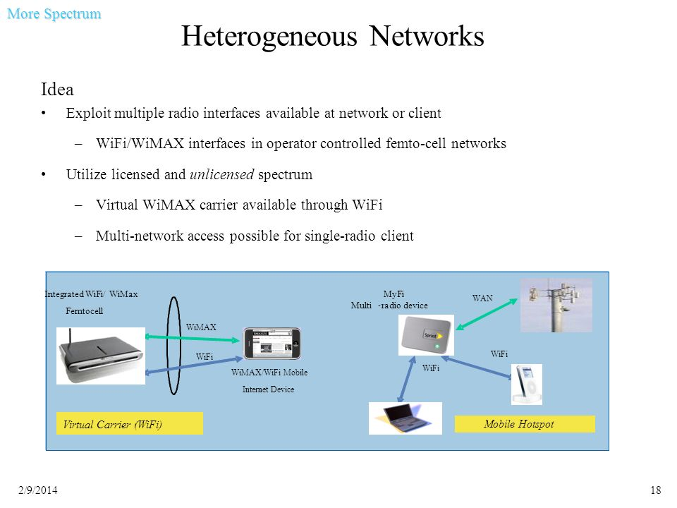 Heterogeneous Networks