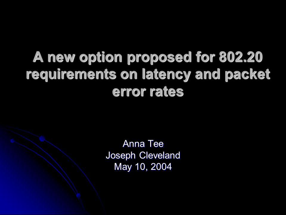 Anna Tee Joseph Cleveland May 10, 2004