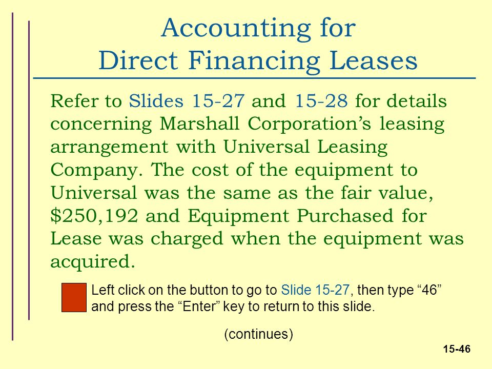 lease accounting practice of leasing companies Existing revenue recognition situation for lessors, as well as that that would arise  under  current lease accounting guidance allows manufacturer and dealer  lessors to recognise  either case, accounting will be driving business practice.