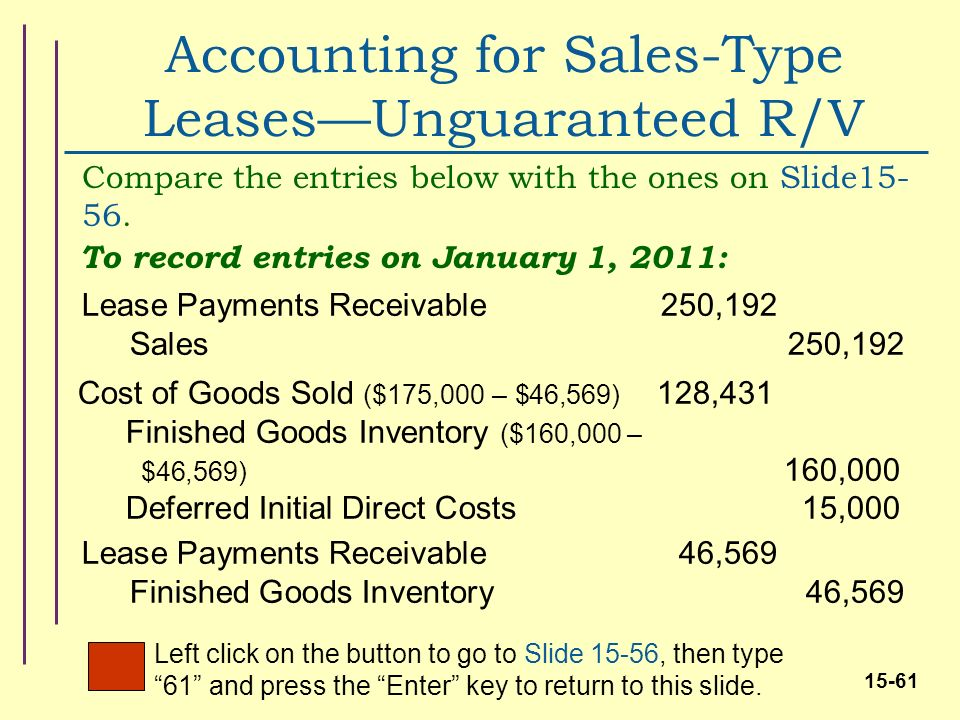 Unguaranteed Residual Value >> Intermediate Accounting,17E - ppt download