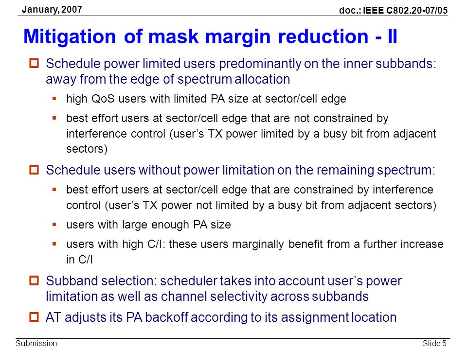 Mitigation of mask margin reduction - II