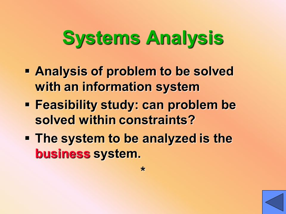 analysis of a business problem Free essay: business situation analysis and problem solving abstract usa  world bank (uwb) is faced with a situation of deciding upon a new product to.