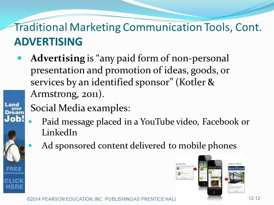 advertisement is a form of communication Active listening is a communication technique that  how to write a job advertisement - sample acknowledgement of  the presentation of the job advertisement.