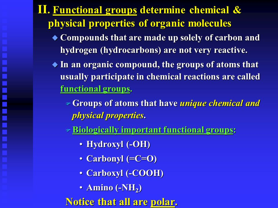 physical properties of organic compounds pdf